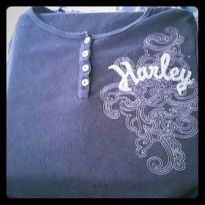 Harley-Davidson long sleeve sweater shirt
